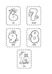 english worksheets the numbers worksheets page 34