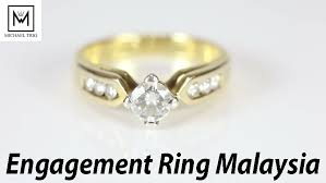 wedding ring malaysia engagement ring malaysia michael trio offers diamond platinum