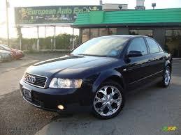 2003 Audi A4 Sedan 2003 Audi A4 1 8t Quattro Sedan In Ming Blue Pearl Effect 113684