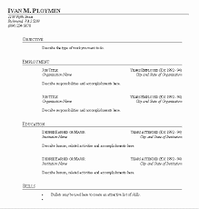 fill in the blank resume template blank resume template best of fill in the blank resume blank fill