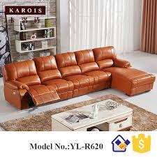 canape jaune cuir jaune allemagne salon canapé en cuir électrique inclinable