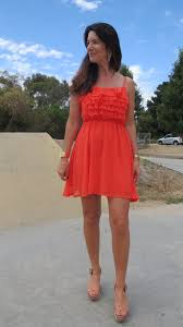 what to wear with an orange dress 5 favorite color shoes to wear