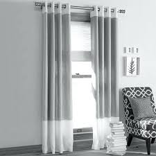 Striped Blackout Curtains White Grey Curtains Best Modern Living Room Curtains Ideas On