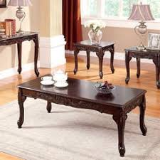 Cherry Wood Coffee Table Country Living Dark Cherry Finish Coffee Table