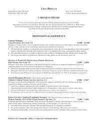 resume sle with career summary senior executive assistant resume sle biotech buy college essays