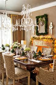 Beautifully Decorated Homes For Christmas Christmas Decorated Living Room