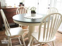 round farmhouse kitchen table farmhouse table makeover with homeright sprayer prodigal pieces