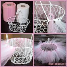 diy easter basket easy diy tutu easter basket easter baskets tutu and easter