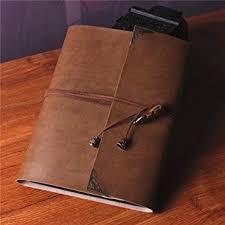 leather scrapbook saibang personal diy photo album handmade retro leather albums