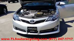 toyota 2014 parting out 2014 toyota camry stock 4084rd tls auto recycling
