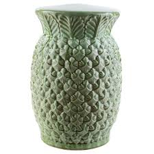 Ceramic Accent Table by Surya Palm Accent Table Candelabra Inc
