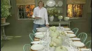 Set Table by Video How To Set A Casual Thanksgiving Table Martha Stewart