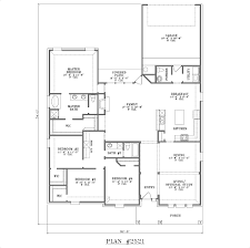 two story house plans with garage in back home shape