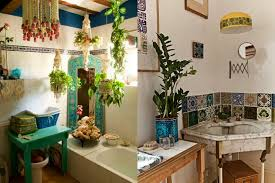 boho bathroom ideas could this eclectic bath be bohemian thereis so
