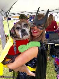 Batman Robin Dog Halloween Costumes 23 Times Dressing Pet Cuter Couples Costume
