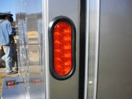enclosed trailer led lights r and p carriages enclosed trailer electrical options