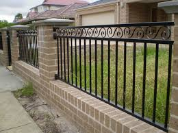 iron gates and fences designs interesting ideas for home