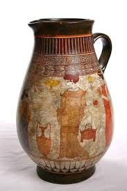 Classical Vases Women Wedding Procession White Classical Greek Vase Ancient Greek