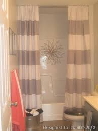 bathroom with shower curtains ideas bathroom shower curtains striped shower curtain neutral bathroom
