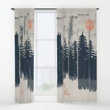 Where The Wild Things Are Curtains Window Curtains Society6