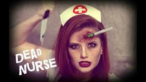 dead nurse halloween tutorial youtube