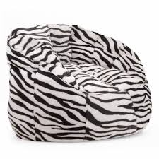 tips cocoon faux fur bean bag chairs walmart in zebra print for
