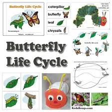 preschool butterfly and caterpillar activities games and lessons