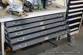 Map Drawers Cabinet Flat Files As Tool Boxes The Garage Journal Board
