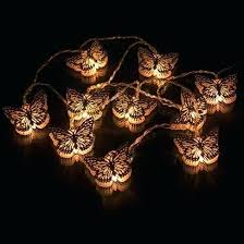 color changing solar string lights butterfly string lights battery operated solar color changing