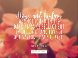 quotes about jesus friendship hope and healing