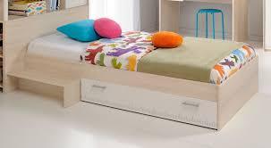 Futon Japonais Ikea Lit Enfant En Bois Blanc Et Acacia Marcus Lit Mixte Avec Tête De