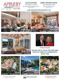 luxury real estate property listings magazine and newspaper ads