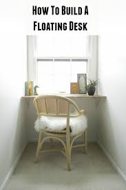 How To Build A Wall Mounted Desk Wall Mounted Desk