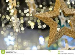 star christmas ornament on blurred background stock image image