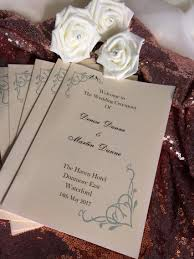 Wedding Booklets Booklets And Programmes