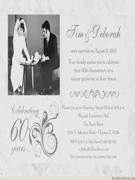 60th anniversary invitations 60th wedding anniversary invitation cards weddinginvite us