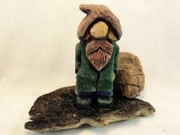 wood carving caricatures moonshiner gnome carving hillbilly caricature orc troll