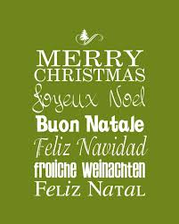 18 merry christmas languages images