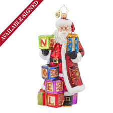 christopher radko ornaments 2015 radko simply noel ornament