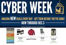 cabela s cyber monday 2017 sale deals cyber week 2017