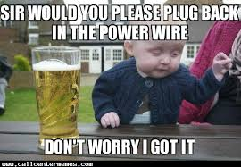 Tech Meme - baby tech support call center memes