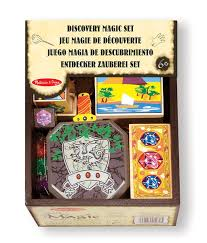 doug melissa u0026 doug discovery magic set with 4 classic tricks solid