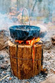 how to make a swedish fire log fresh off the grid