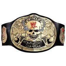 wweshop stone cold smoking skulls championship title belt