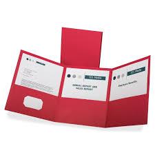 amazon com oxford paper tri fold pocket folders letter size