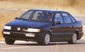 stanced volkswagen passat 1996 volkswagen passat tdi diesel archived instrumented test