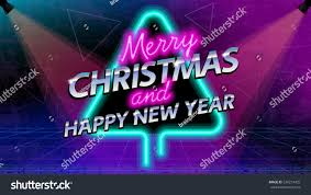 merry christmas new year social media stock vector 530219425