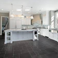 tile floors kitchen cabinets newfoundland kenmore electric range