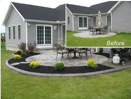 Concrete Backyard Ideas Best 25 Concrete Backyard Ideas On Pinterest Garden Lighting