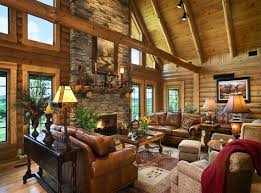 Log Home Decor Ideas Log Homes Interior Designs With Good Ideas About Log Home
